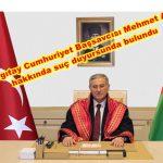 Yargıtay Cumhuriyet Başsavcısı Mehmet Akarca hakkında  Adli ve İdari Soruşturma Açılması için Suç Duyurusunda bulunduk.
