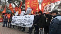 Kanlı zalim AB-D Emperyalistleri ülkemizden ve Ortadoğu'dan defolun!