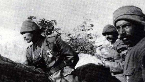 Top tüfeğe karşı vatan aşkı ile bilenmiş süngünün zaferi; Çanakkale…