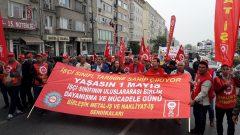 Nakliyat-İş'ten: Binlerce İşçi ile 1 Mayıs'ta Taksim Meydanı'na yürüdük
