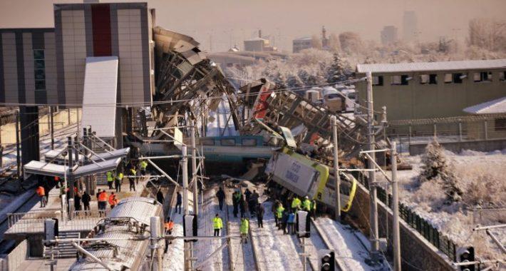 Ankara'daki Yüksek Hızlı Tren Katliamı İçin Partimizden Suç Duyurusu