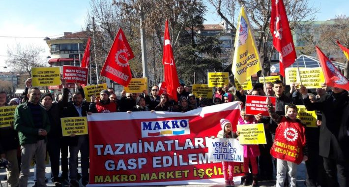 """Makro İşçileri: """"Bu Direniş bizim umut ışığımız"""""""
