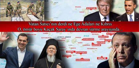 Vatan Satıcı'nın derdi ne Ege Adaları ne Kıbrıs…
