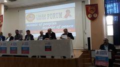 Nakliyat-İş'ten: Dünya Sendikalar Federasyonu DSF ve PAME'nin Öncülüğünde2. Balkan Formu Selanik'te yapıldı