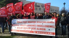 Nakliyat-İş'ten: Sendikaya Üye Oldukları için İşten Atılan Tüvtürk Muğla İşçilerinin İşe İade Davaları devam ediyor