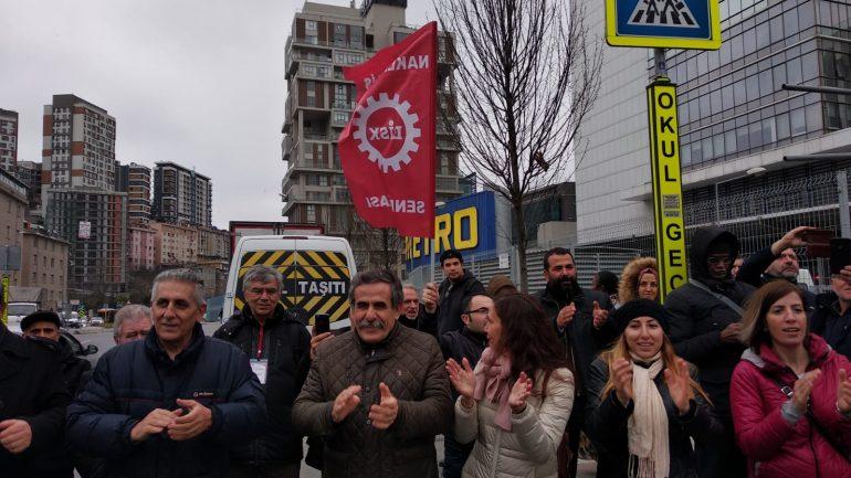 """""""Amacımız İşçi Sınıfının gasp edilen tüm haklarını geri almasıdır"""""""
