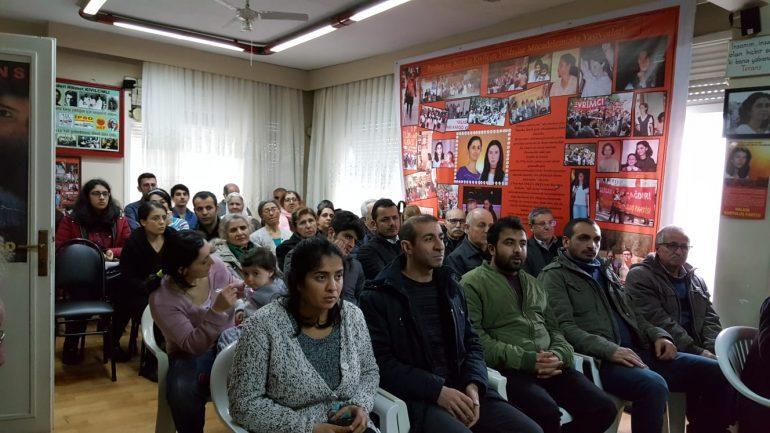 Devrimci Mücadele'nin iki meleği Perihan ve Semiha Kıvılcım Güldemir yoldaşlarımız İstanbul'da anıldı