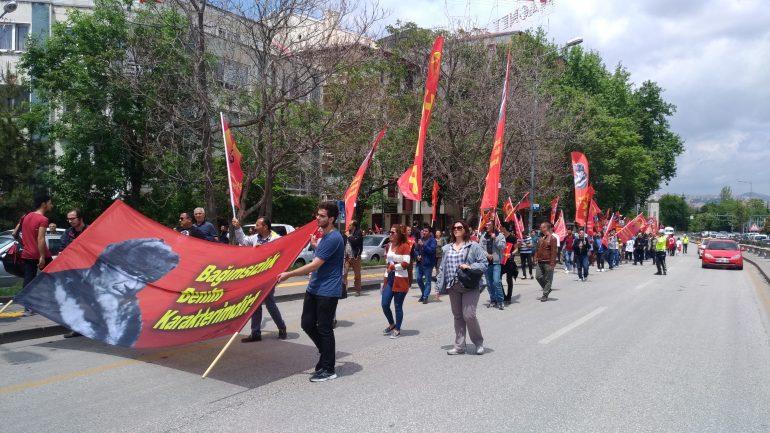 Mustafa Kemal'in Samsun'a çıkışının 100. yılında hep bir ağızdan haykırdık: Yüzyıl Önce Yendik Yine Yeneceğiz!