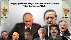 """Tayyipgiller'den Milyar Ali cephesini oluşturan """"Beş Benzemez"""" Hafız"""
