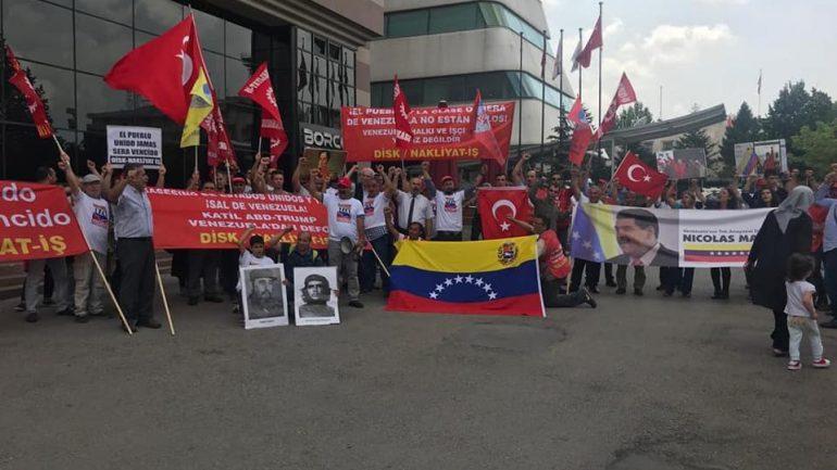 """""""Katil ABD-Trump Elini Venezuela'dan Çek!"""""""