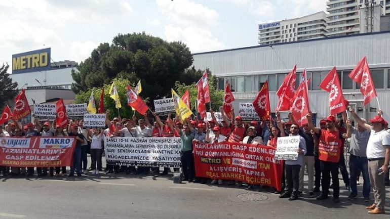 Nakliyat-İş'ten: Şanlı 15-16 Haziran Direnişinin 49'uncu yılında, Türkiye'nin dört bir yanında alanlardaydık