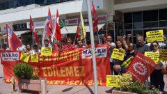 Nakliyat-İş'ten: Makro Market Direnişçileri Patronların peşini bırakmıyor