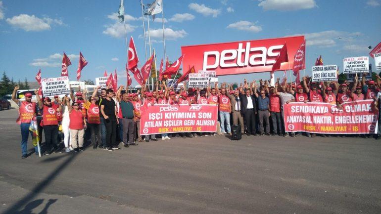 PETLAS Direnişinde zafer kazanıldı, Direnen İşçiler işbaşı yaptı