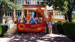 Salda Gölü'nün TOKİ eliyle yağmalanmasını protesto ettik