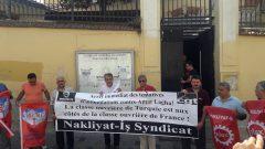 Nakliyat-İş'ten: Fransa Devletinin, Fransız Genel İşçi Konfederasyonu (CGT)'ye bağlı Ticaret ve Hizmet Sendikası Genel Sekreteri Amar Lagha'ya yönelik baskı ve yıldırma politikalarını protesto ediyoruz. CGT ile dayanışma içindeyiz.