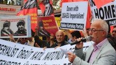 AB-D Emperyalistlerinin eli kanlı savaş örgütü NATO ülkemizden ve Ortadoğu'dan defol!
