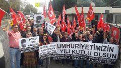 Real İşçileri, Uzel İşçileri ve Uyum/Makro İşçileri 29 Ekim Cumhuriyet Bayramını Direniş Alanlarında kutladı