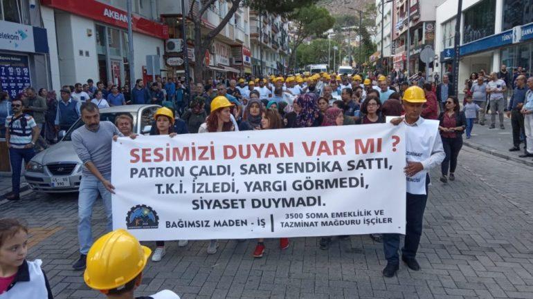 Soma Maden İşçileri Yalnız Değildir!