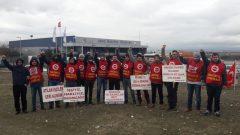 Nakliyat-İş'ten: Tüvtürk/Reysaş'da Sendikamız üyesi 16 işçi daha Tazminatsız olarak işten atıldı.