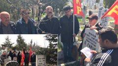 Konya'da Devrim Çınarları Faruk Sur ve Sıtkı Şaplak Yoldaşları andık