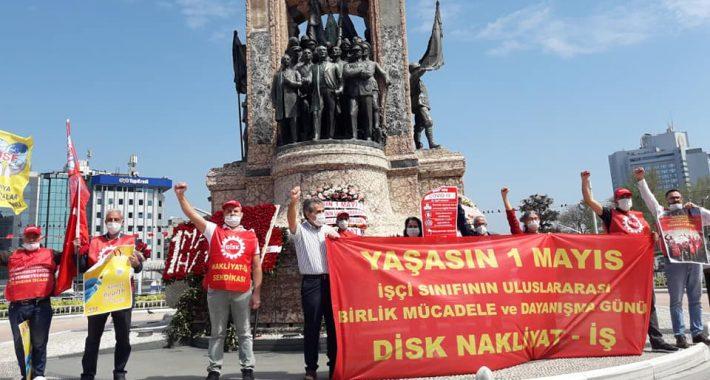 """""""Türkiye'de 1 Mayıs demek Taksim demektir!"""""""