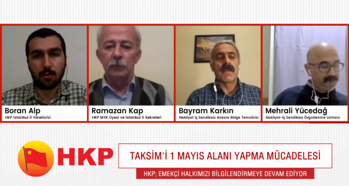 Kurtuluş Partisi Koronavirüs sürecinde de devrimci sorumluluğunu yerine getirmeye devam ediyor