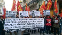 Emperyalistlerin Soykırım Yalanı Halkları Birbirine Düşürme Planıdır! Yaşasın Türk-Kürt-Ermeni Halklarının Kardeşliği!