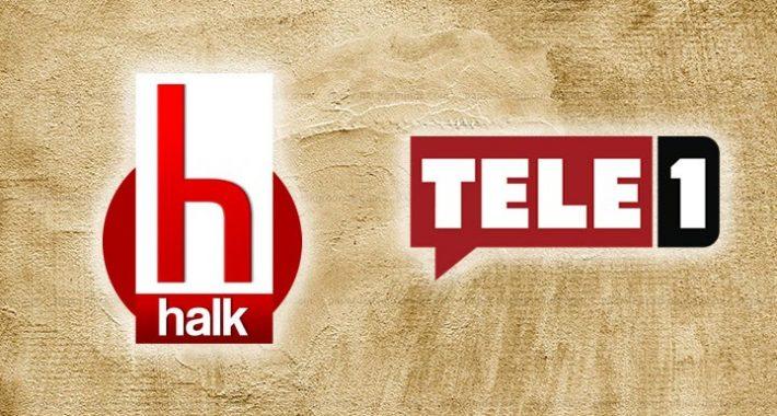 AKP'giller RTÜK'ünün ekranlarını kararttığı Halk TV ve Tele 1'in yanındayız