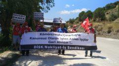 Muğla Milas'ta Kömürcüoğlu/Çınartaş İşyerinde Sendikamızın Çoğunluk Tespiti Geldi  Çınartaş'a Sendika Girecek Başka Yolu Yok!
