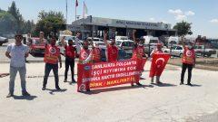 Nakliyat-İş'ten: Şanlıurfa Tüvtürk Polçak direnişçilerinden 2 işçi işe iade davasını kazandı