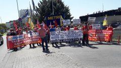 Real Market Direnişi 3. Yılında!  Parababalarının İşçi Düşmanlığına, Sarı Sendikacılığa karşı  Mücadelemiz sürüyor, sürecek. Kazanacağız…