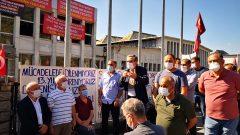 Nakliyat-İş'ten: Sendikamız Genel Başkanı Ali Rıza Küçükosmanoğlu  Önder Uzel'in Şikâyeti üzerine ifade verdi