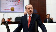 HKP, Tayyip Erdoğan'ın diploma sahteciliğinin peşini bırakmıyor: Recep Tayyip Erdoğan'ın Üniversite Diploması Sahte,  Lise Diploması Nerede?