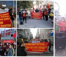 Kurtuluş Partili Kadınlar olarak 8 Mart Dünya Emekçi Kadınlar Günü'nde alanlardaydık tüm coşkumuzla!