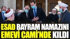 Yaa Tayyip! Gördün mü Emevi Camii'nde kim namaz kıldı?