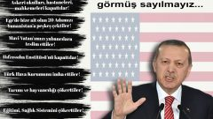 Türkiye'ye değil, Amerika'ya çalışıyorlar! Bunu netçe görmezsek, hiçbir şeyi tam olarak  görmüş sayılmayız…