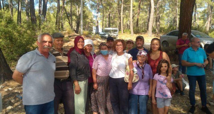 HKP'den: İkizköylüler Akbelen Ormanı Direnişi'nde hukuki kazanım elde ettiler… Biz de Halkın Kurtuluş Partisi olarak onların mutluluklarına yaptığımız destek ziyaretiyle ortak olduk